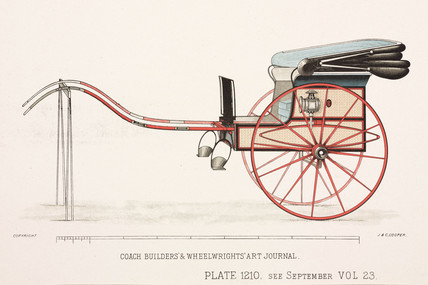Buggy, c 1903.