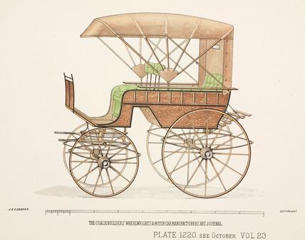 Wagonette or phaeton, c 1903.
