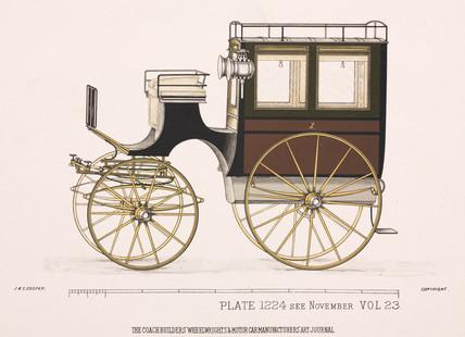 Private omnibus, c 1903.
