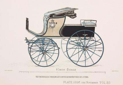 Demi-Mail phaeton, c 1903.