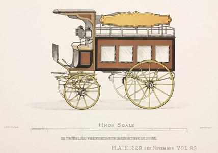 Trade van, c 1903.