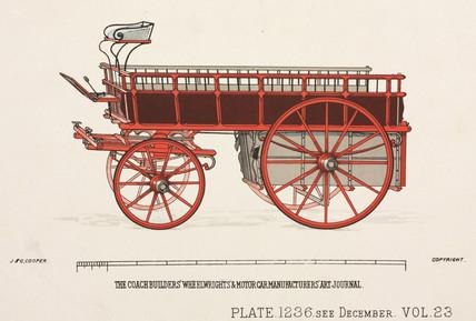 Waggon, c 1903.
