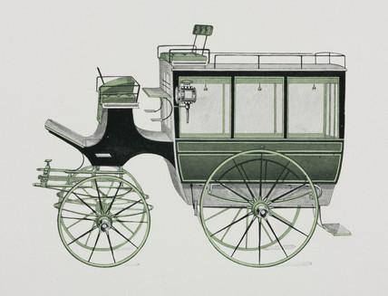 Hotel or private omnibus, 1906.