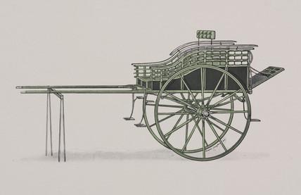 Norfolk cart, 1906.
