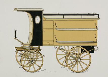 Tinker's van, c 1907.