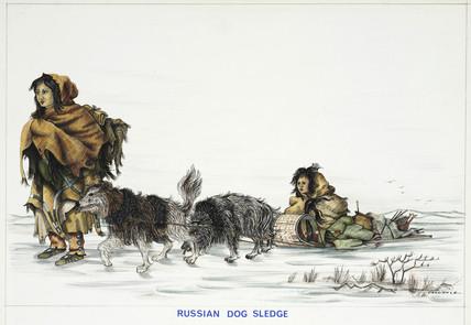 'Rusian Dog Sledge', 1967.
