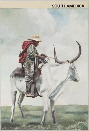 'South America', 1967.