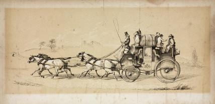 The London to Dover Coach, 1750-1890.