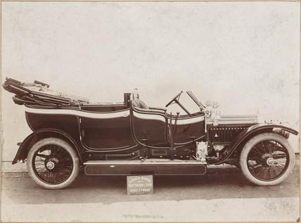 Vauxhall motor car, c 1910-1925.