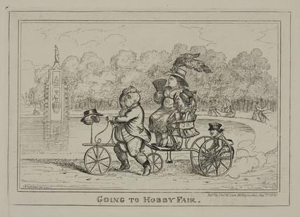 'Going to Hobby Fair', 1835.