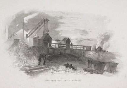 Wallsend Colliery, Newcastle Upon Tyne, 1844.