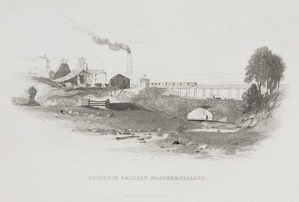 Gosford Colliery, Northumberland, 1844.