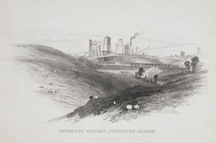 Broomside Colliery, Pittington, Durham, 1844.