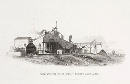 Whitworth Park Colliery, Bishop Auckland, Durham, 1844.