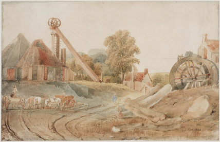 'Mine Workings', early 19th century.
