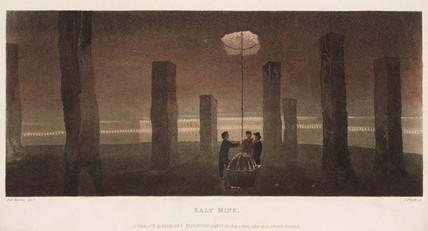 Salt Mine, Cheshire, 1814.