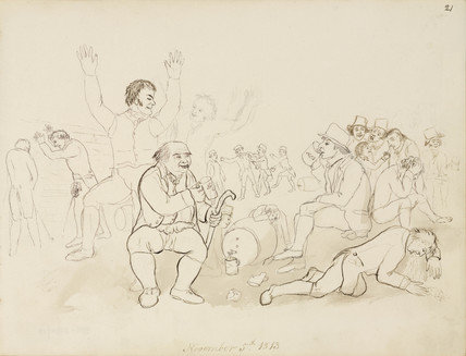 Festivities, Northumberland, 1813.