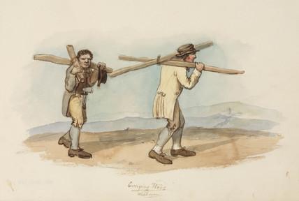 Woodmen, Northumberland, c 1805-1820.