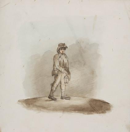 Miner, Northumberland, c 1805-1830.