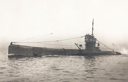 The H48 submarine, 1919-1935.