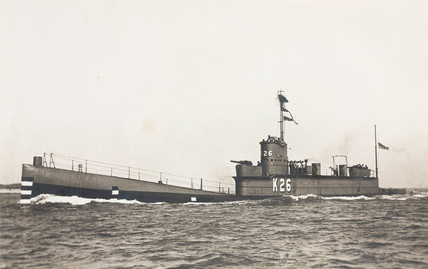 The K26 submarine, 1923-1931.