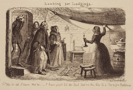 'Looking for Lodgings', 1851.