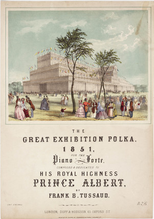 'The Great Exhibition Polka' 1851.
