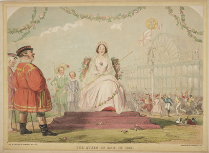 'The Queen of May in 1851', 1851.