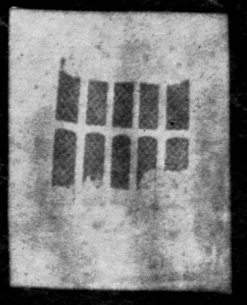 Latticed window, Lacock Abbey, Wiltshire, Aug 1835.