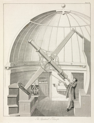 Equatorial telescope, 1851.