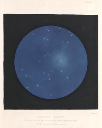 Encke's Comet, 22 September 1848.