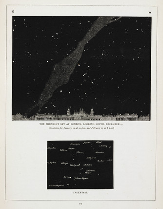 'The Midnight Sky at London, Looking South, December 15', 1891.