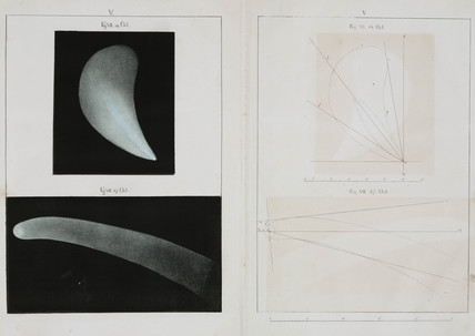 Halley's comet, October 1835.