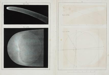 Halley's comet, 29 October 1835.