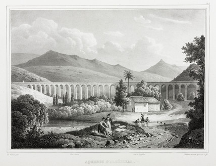 Aqueduct, Algeciras, Spain, 1826-1829.