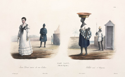 Inhabitants of the Cape Verde islands, 1826-1829.