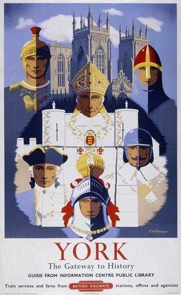 'York', BR poster, 1955.