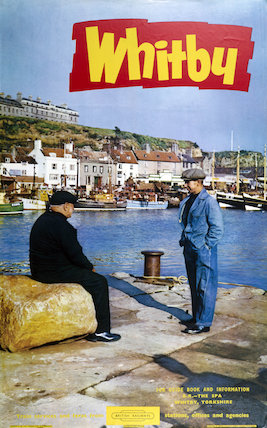 'Whitby', BR poster, 1962.