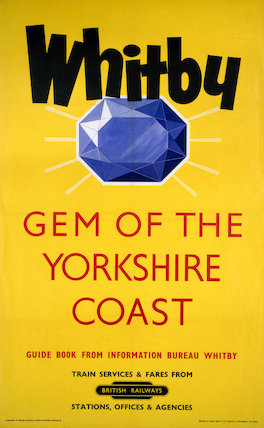 'Whitby', BR poster, 1958.