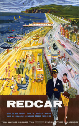 'Redcar', BR poster, 1962.