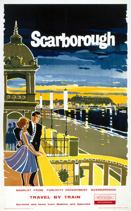 'Scarborough', BR poster, 1961.