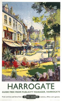 'Harrogate', BR poster, 1957.