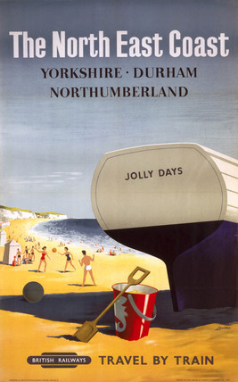'The North East Coast', BR poster, 1957.