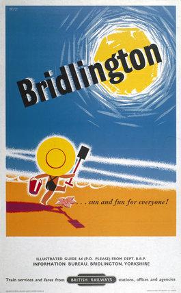 'Bridlington', BR poster, 1959.