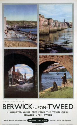'Berwick-upon-Tweed', BR poster, 1948-1965.