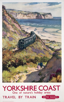'Yorkshire Coast', BR poster, 1959.
