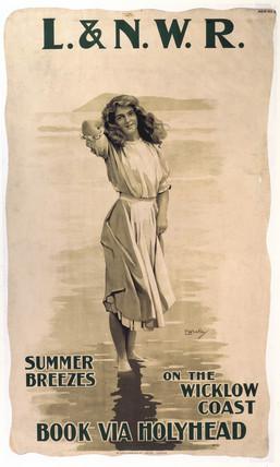 'Summer Breezes', LNWR poster, 1890-1910.