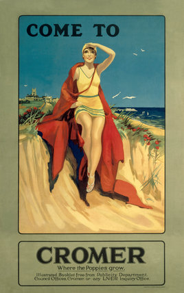 'Come to Cromer', LNER poster, 1923-1947.