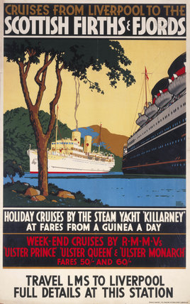 'Cruises from Liverpool to the Scottish Fir