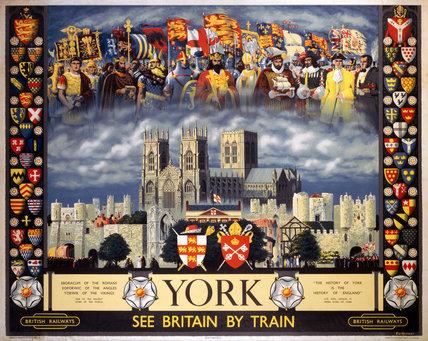 'York', BR poster, 1956.
